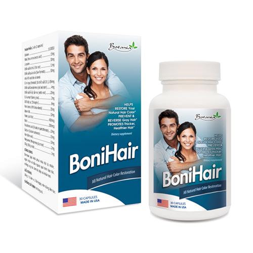 Bonihair trị bạc tóc sớm